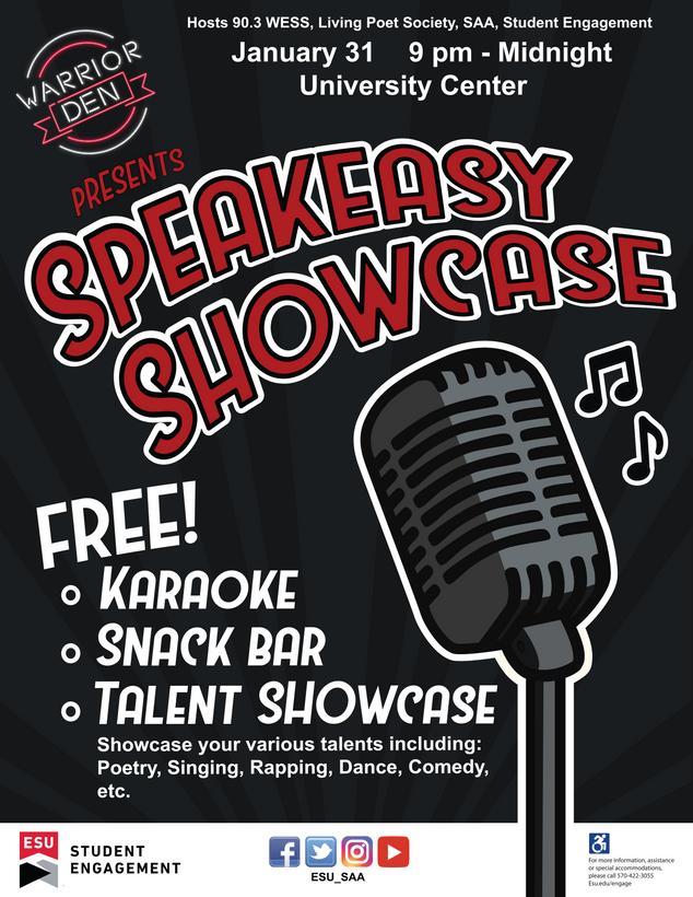 Speakeasy Showcase