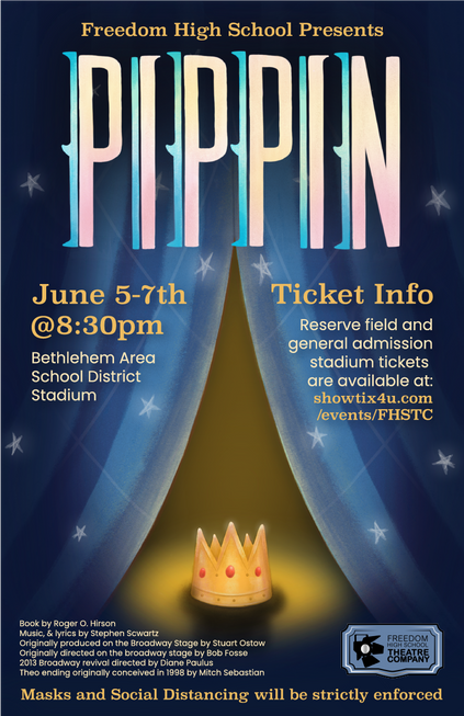 Pippin Vertical Flyer with Stars