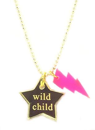 Wild Child Bolt Necklace