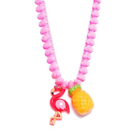Fabulous Flamingo Necklaces - Hot Pink