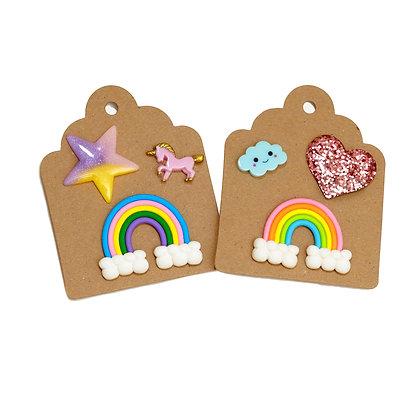 Rainbow Tie Tack Pins