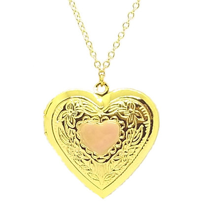 Jumbo Heart Locket