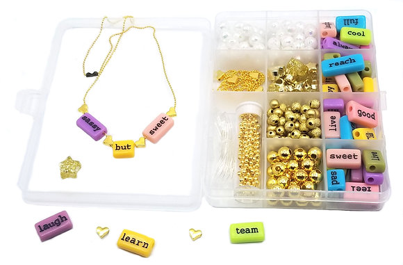 Use Your Words Jewelry Kit