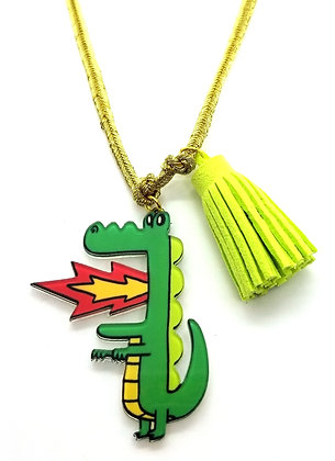 Wacky Dragon Necklace