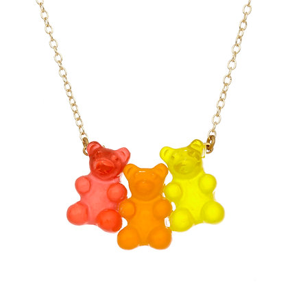 Citrus Gummy Bear Necklace