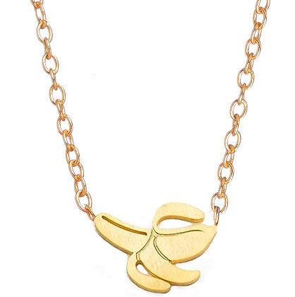 Girl Power Banana Necklace