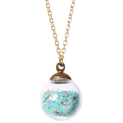 Sweet Dreams Crystal Ball Necklace