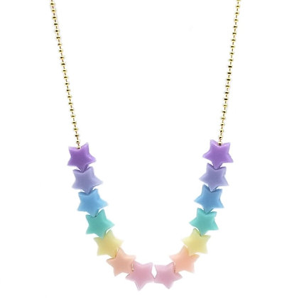 Pastel Star Necklace (new!)