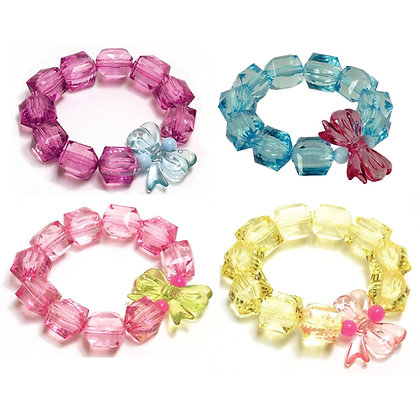 Rock Candy Bracelets - Bows