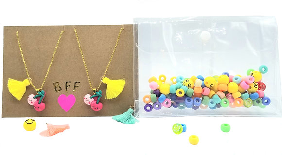 DIY Besties Necklace Kit--Cheery Cherries