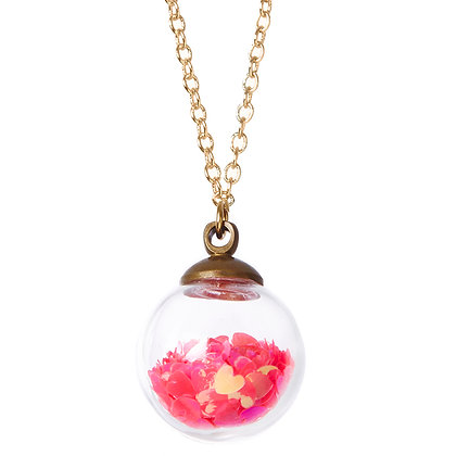 Love Potion Crystal Ball Necklace
