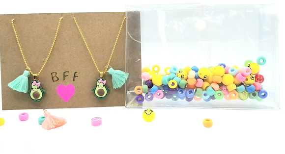 DIY Besties Necklace Kit--Adorable Avocados