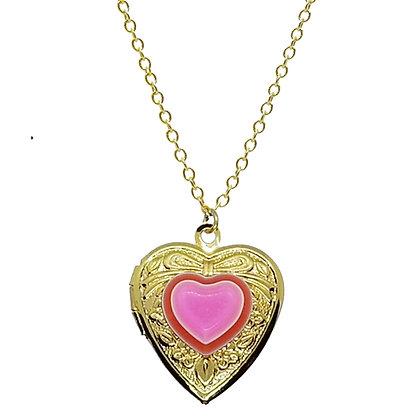 Be Mine Heart Locket