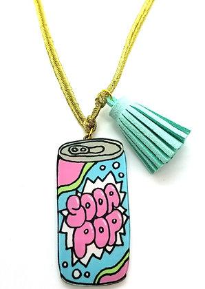 Wacky Soda Pop Necklace