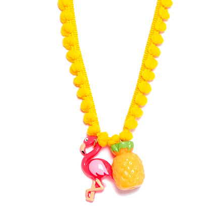 Fabulous Flamingo Necklaces -Yellow