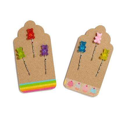 Gummy Bear Bobby Pins