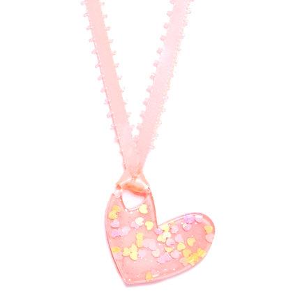 Be Mine Valentine Pendant - Light Pink/Light Pink