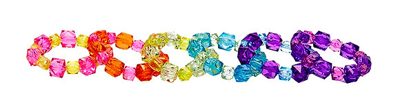 Rock Candy Bracelets - Two Tone