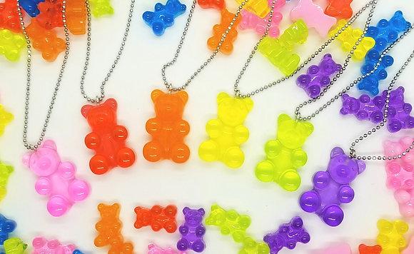 Jumbo Gummy Bear Necklace