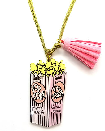 Wacky Popcorn Necklace