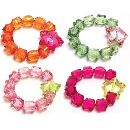 Rock Candy Bracelets - Stars