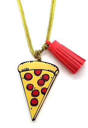 Wacky Pizza Necklace