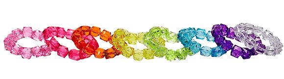 Rock Candy Bracelets - Solid Colors