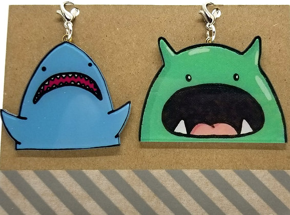 Monster Jaws Zip Clips