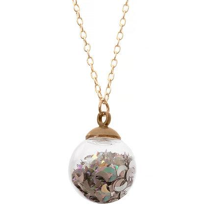 Bella Luna Crystal Ball Necklace