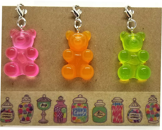 Gummy Bear Zip Clips