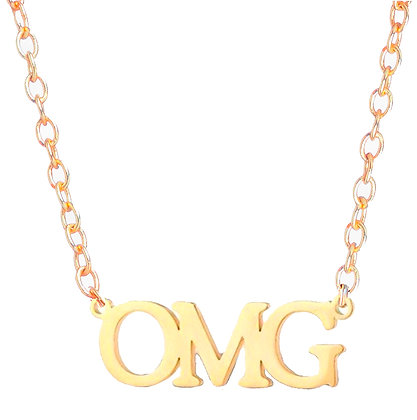 Girl Power OMG Necklace
