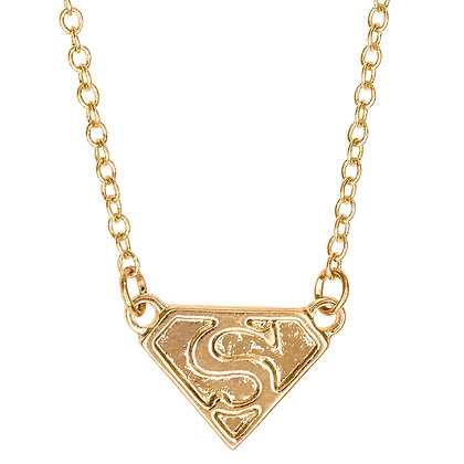 Girl Power Superhero Necklace