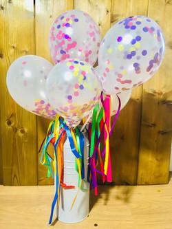 Confetti balloon wands