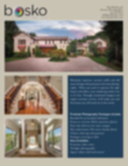 Real Estate Photography & Video Price Sh
