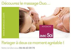 Massage duo avec Soi Rennes