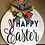 Thumbnail: Happy Easter hanging sign