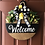 Thumbnail: Daisy Welcome hanging sign