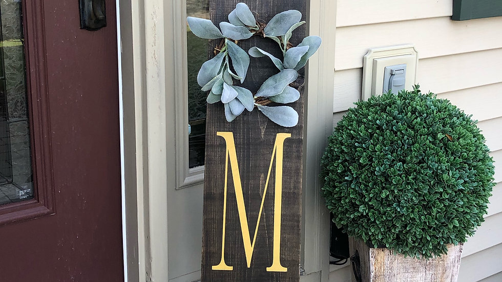 HOME porch sign