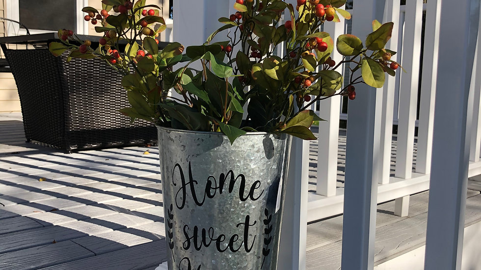 Home Sweet Home tin container (filled)