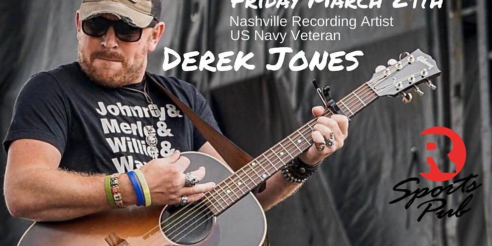 Derek Jones | 9pm