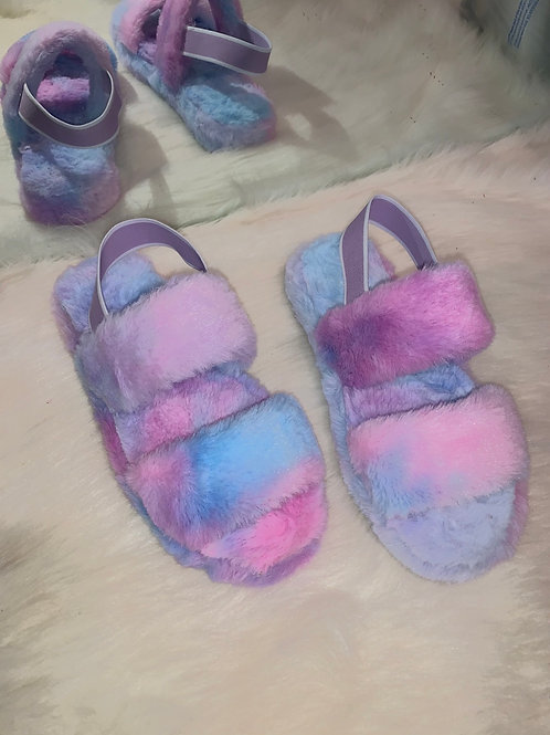 Snuggles - Blue Tie Dye