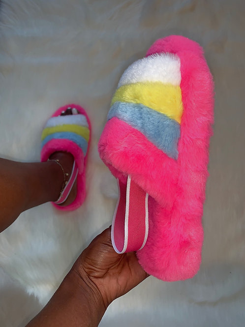 Snuggles - Pink Rainbow