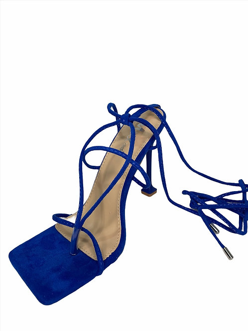 Lady in Royal (suede)
