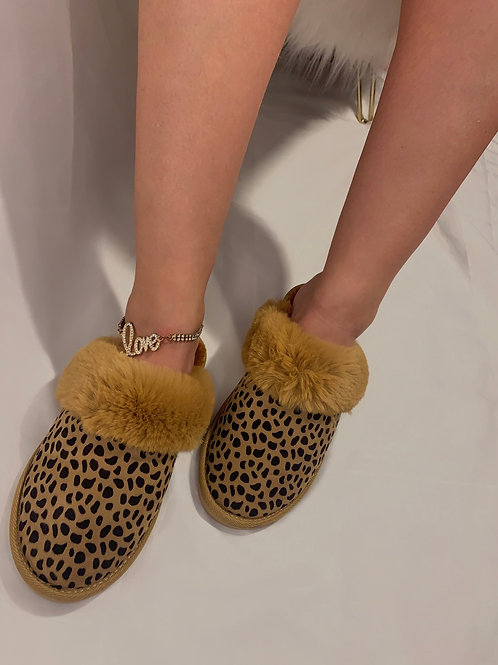 Slipper - Leopard