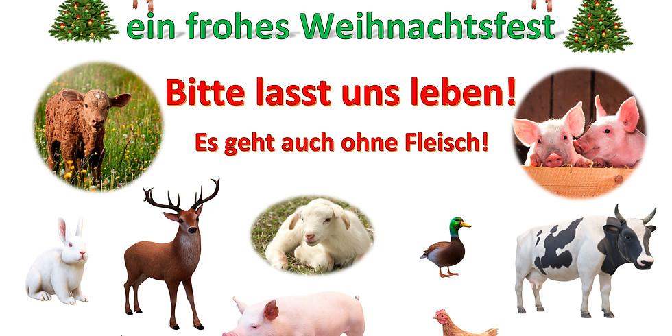 Weihnachten ohne Tierleid