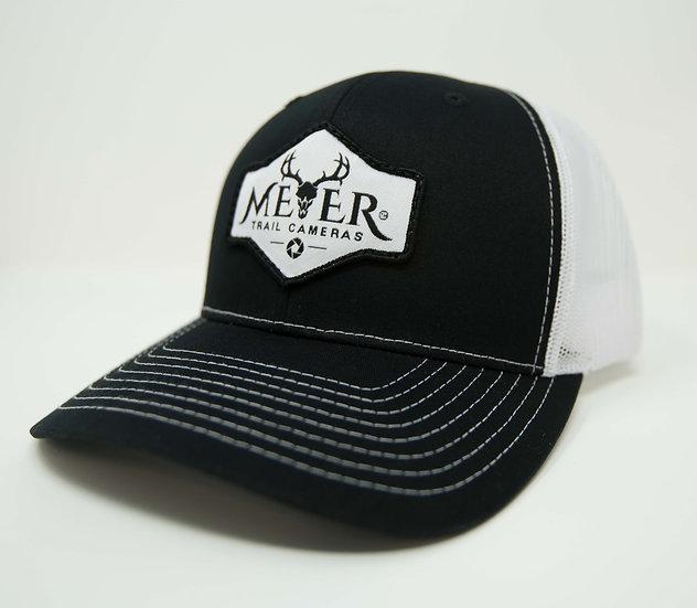 Meyer trucker white back
