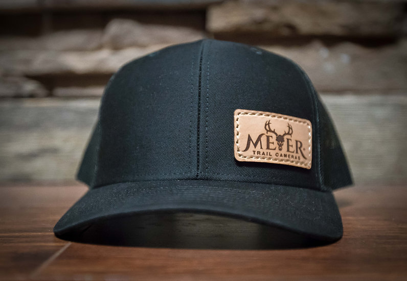 Meyer Black Trucker with side patch