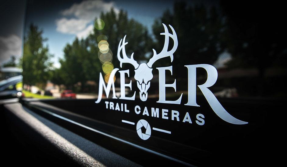 Meyer Trail Cameras Logo Window Decal