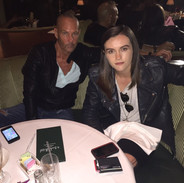 Dinner with Daisy Guttridge at the Beverly Hills Hotel
