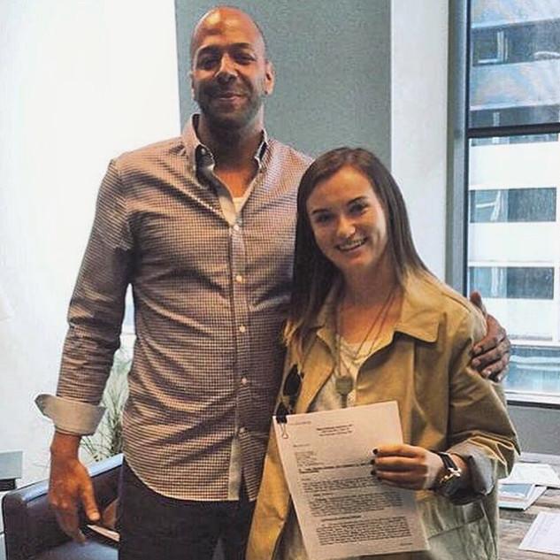 Daisy signs to MPA Music publishing.JPG